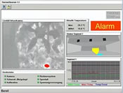 User interface including infrared live image and all system information
